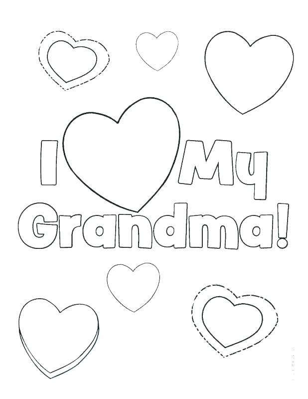 618x800 Grandparents Day Coloring Sheets