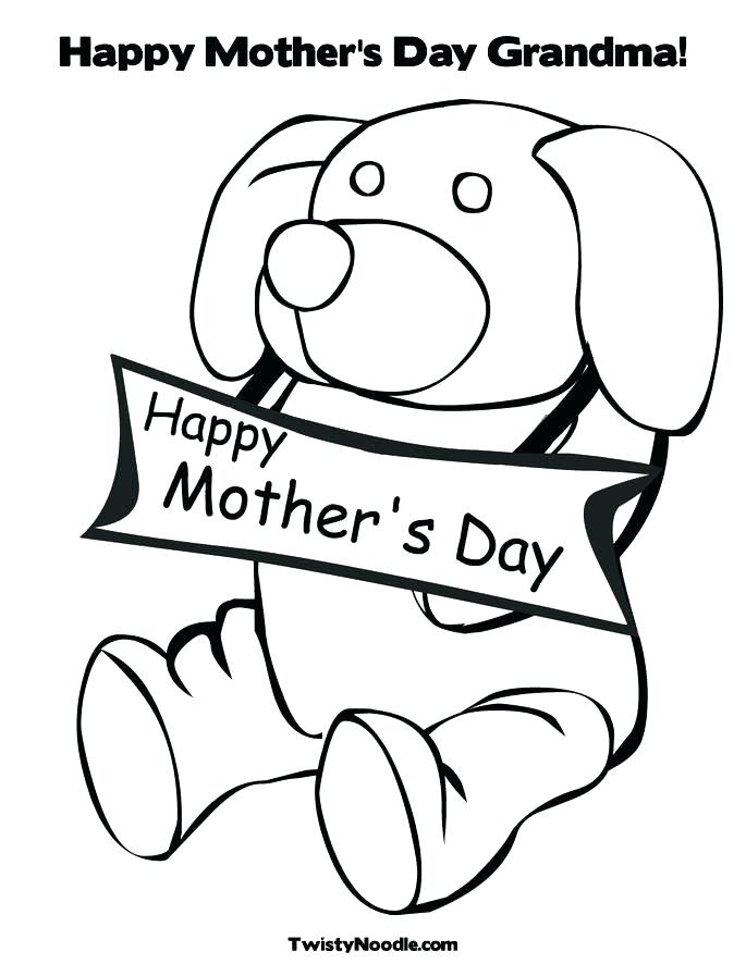 685x886 Happy Grandma Day Coloring Pages Grandparents Day Coloring Page