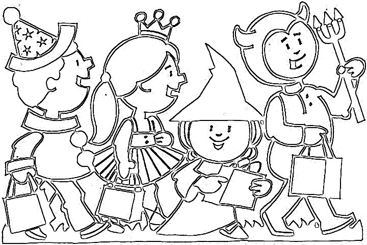 720x480 Happy Halloween Coloring Pages Coloring Pages Wallpaper