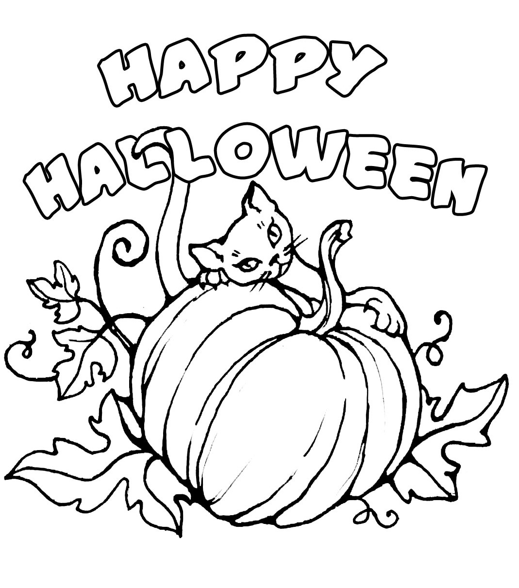 1069x1211 Cute Halloween Coloring Pages With Wallpaper Android Cute