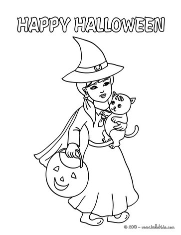 363x470 Halloween Posters Coloring Pages
