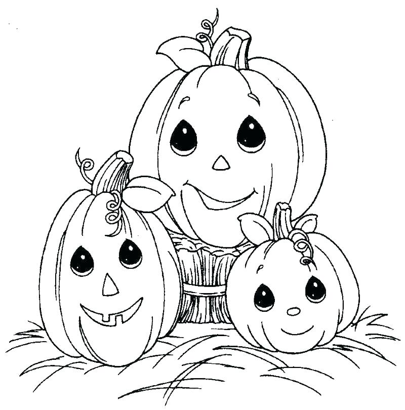 800x810 Free Printable Fall Halloween Coloring Pages Free Autumn Coloring