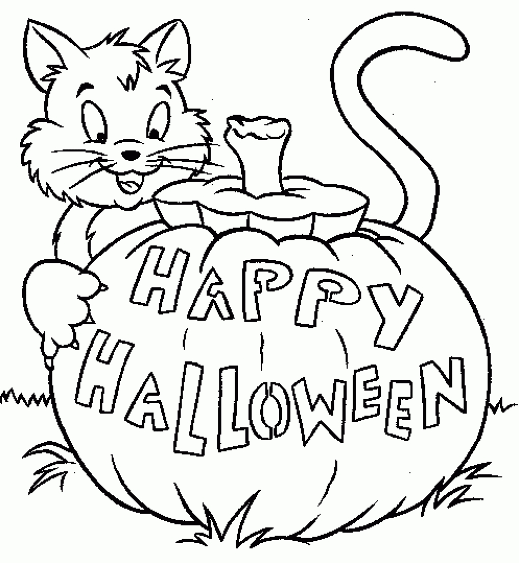 1020x1106 Halloween Printable Coloring Pages For Toddlers