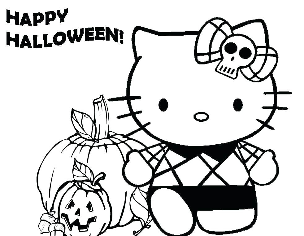 982x762 Halloween Coloring Pages For Toddlers Happy Halloween Coloring