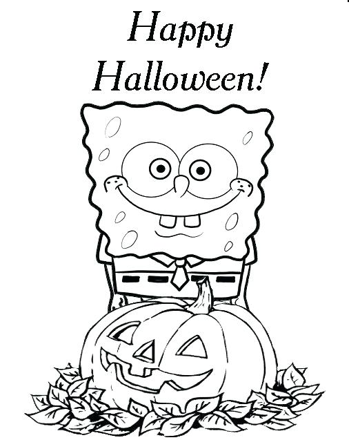 506x637 Halloween Coloring Printables Luxury Coloring Pages Kids