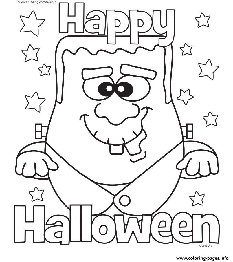 805x903 Print Halloween Monster Happy Halloween Coloring Pages Halloween