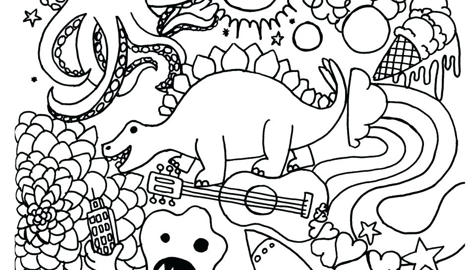 960x544 Free Halloween Coloring Pages Printable