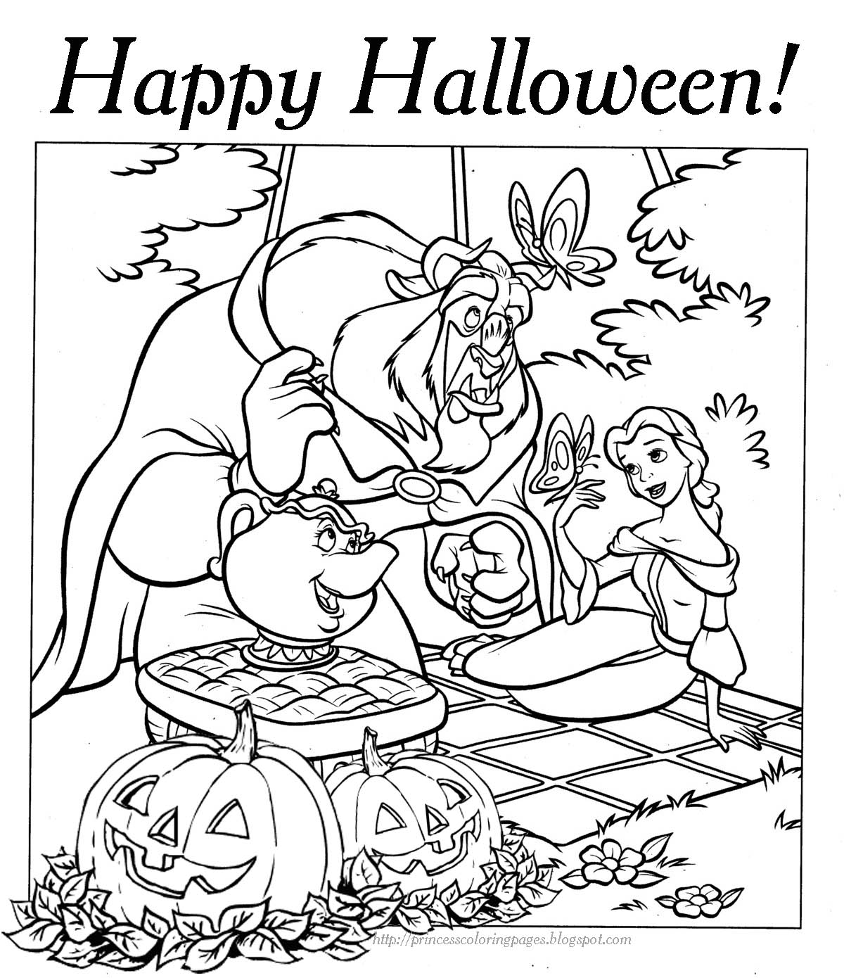 1200x1390 Disney Princess Halloween Coloring Pages