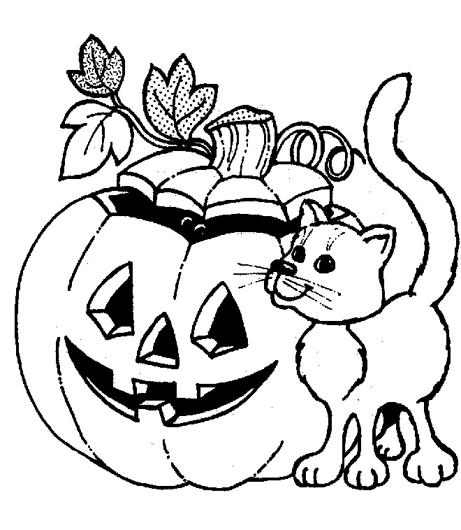 660x758 Free Halloween Coloring Pages