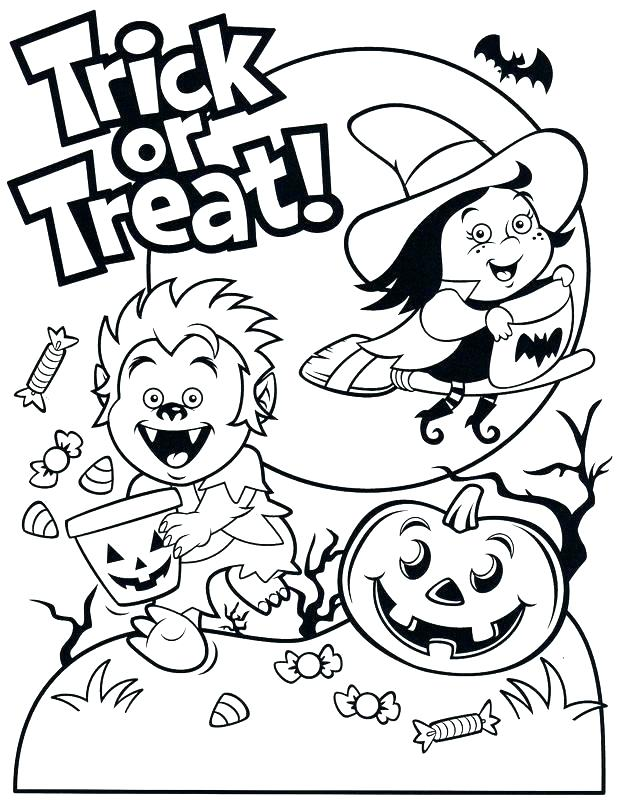 623x800 Halloween Coloring Activities Coloring Pages Free Printable Trick