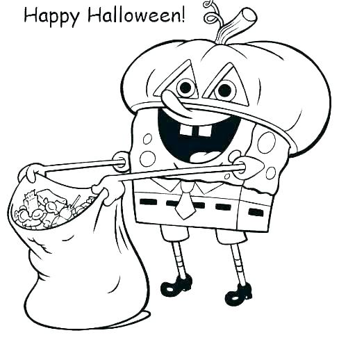 488x492 Halloween Coloring Pages Free Printable Coloring Pages Free Nick