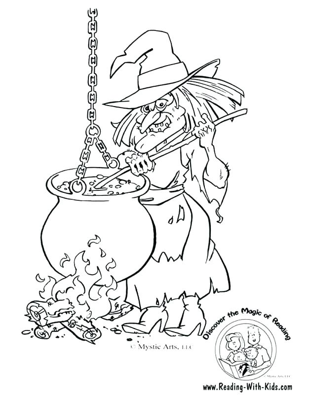 630x815 Happy Halloween Coloring Page Witch Coloring Pages Free Coloring
