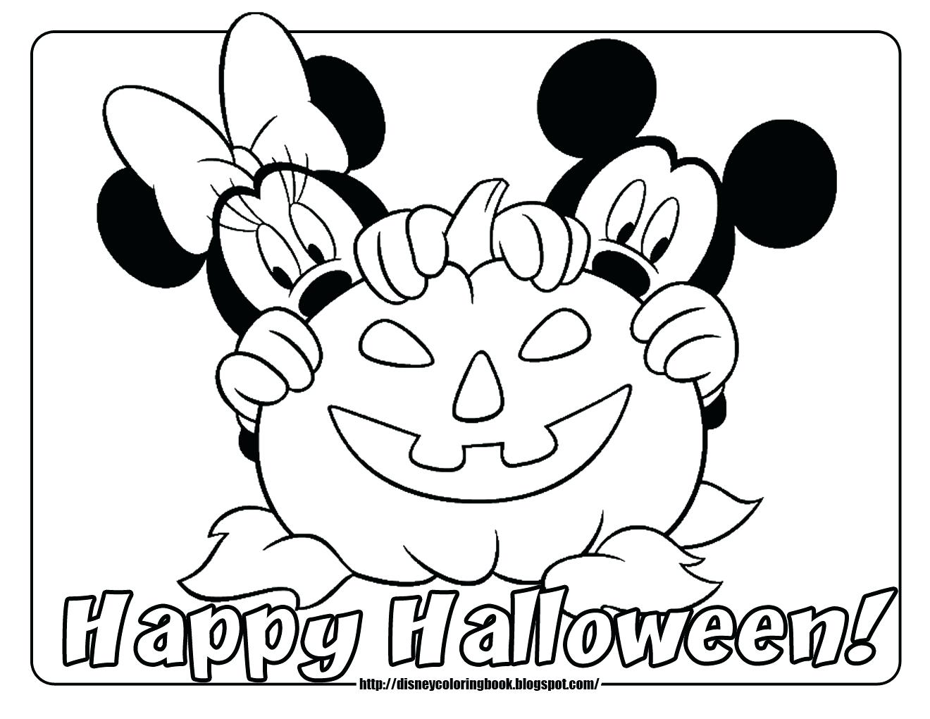 1320x1020 Coloring Pages Halloween Coloring Pages To Print Mickey Mouse