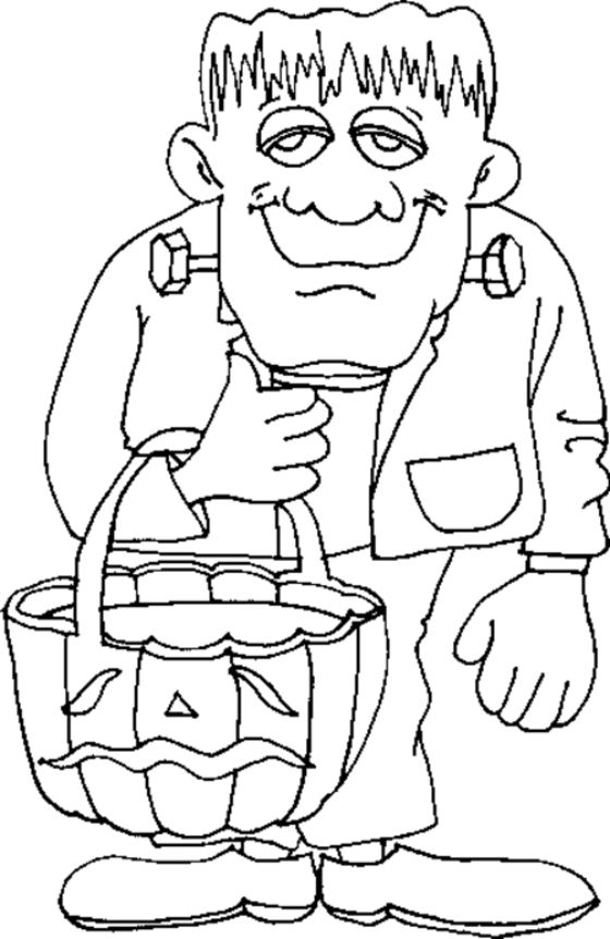 560x862 Printable Coloring Pages Halloween