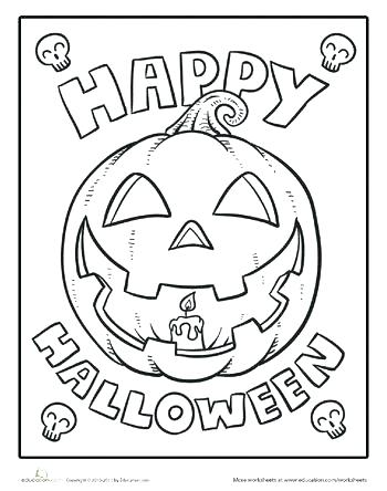 350x444 Cool Halloween Coloring Pages Cool Coloring Pages Color The Happy