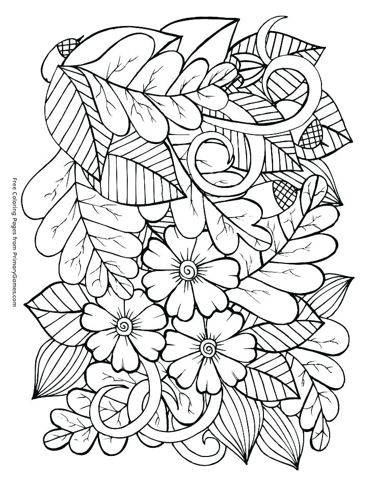 736x952 Free Printable Autumn Coloring Pages Coloring Pages Of Fall Autumn