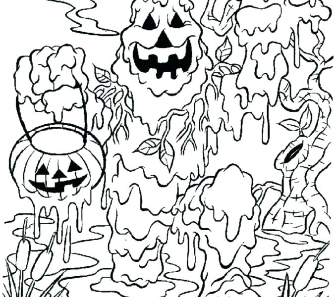 678x600 Funny Halloween Coloring Pages Coloring Page To Keep Kids
