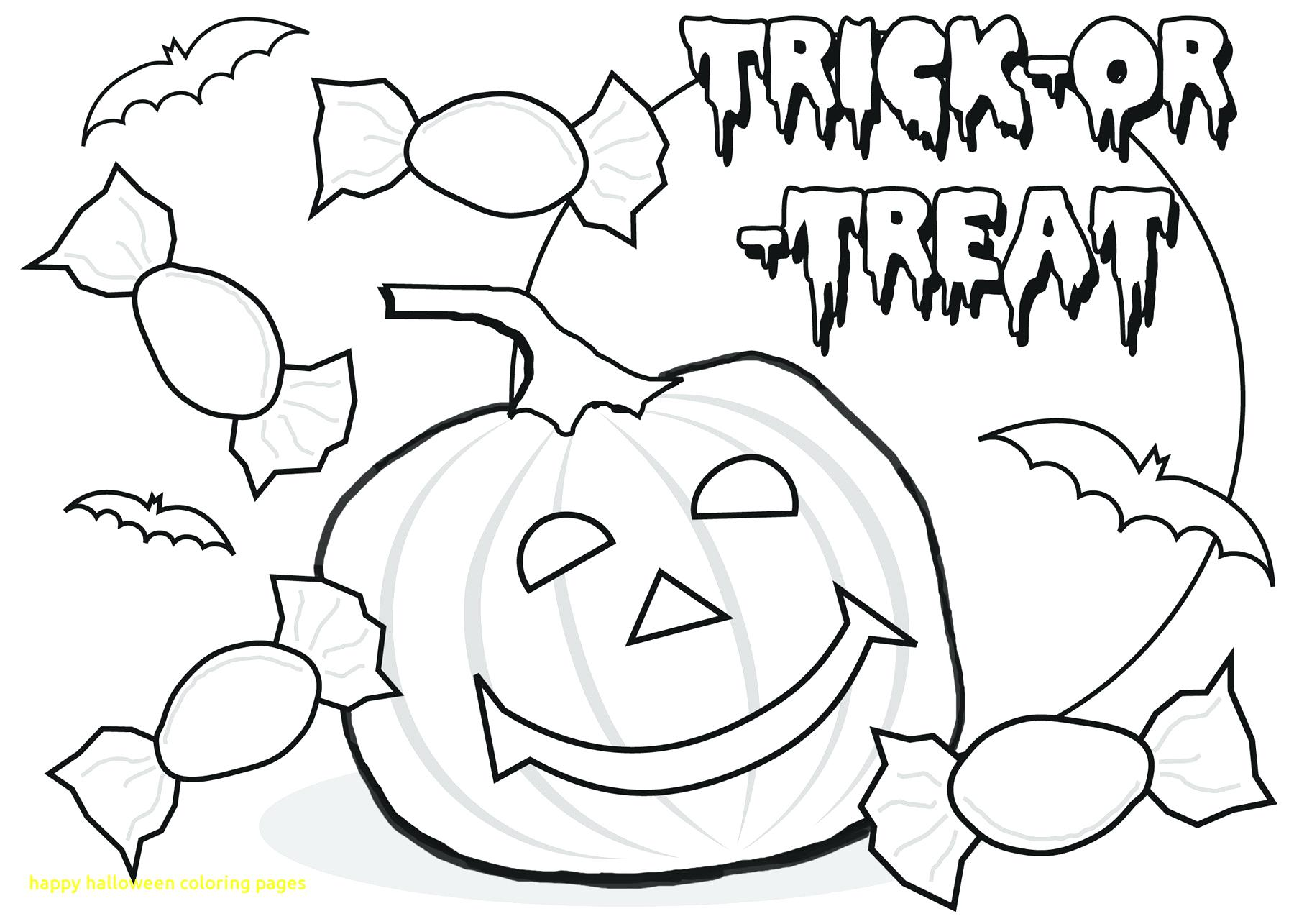 1800x1285 Halloween Coloring Pages Haunted House Happy With Page Printable