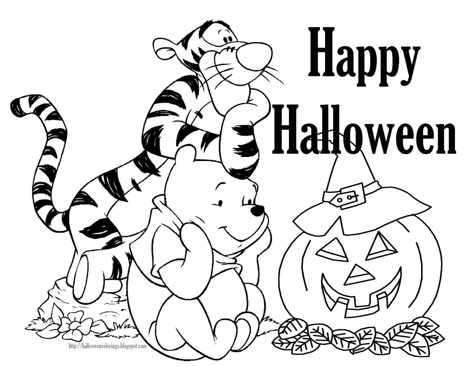 1600x1236 Free Halloween Coloring Pages Happy Pictures Throughout