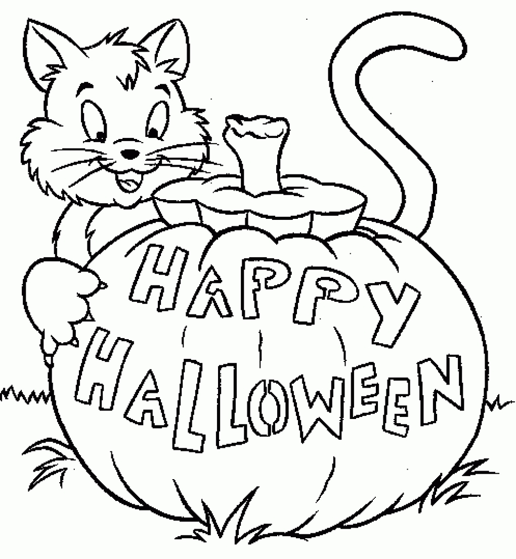 1020x1106 Happy Halloween Coloring Pages New Halloween Printable