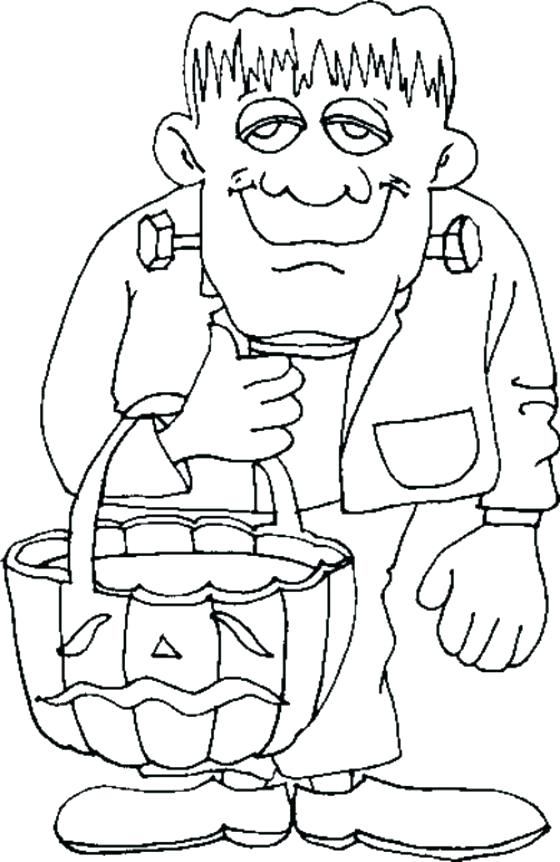 560x862 Happy Halloween Coloring Pages Printable Coloring Page Best