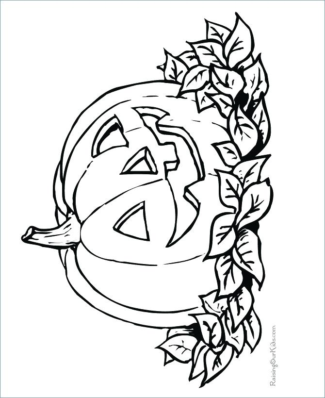 670x820 Happy Halloween Coloring Pages