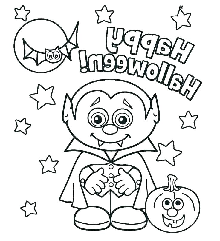 736x808 Halloween Coloring Page Printable Cute Coloring Pages Printable