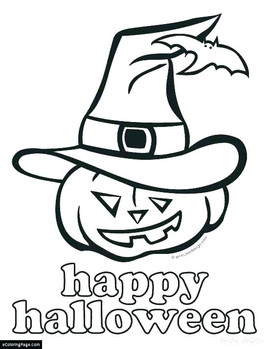 550x712 Halloween Coloring Pages Free Happy Coloring Page Free Printable