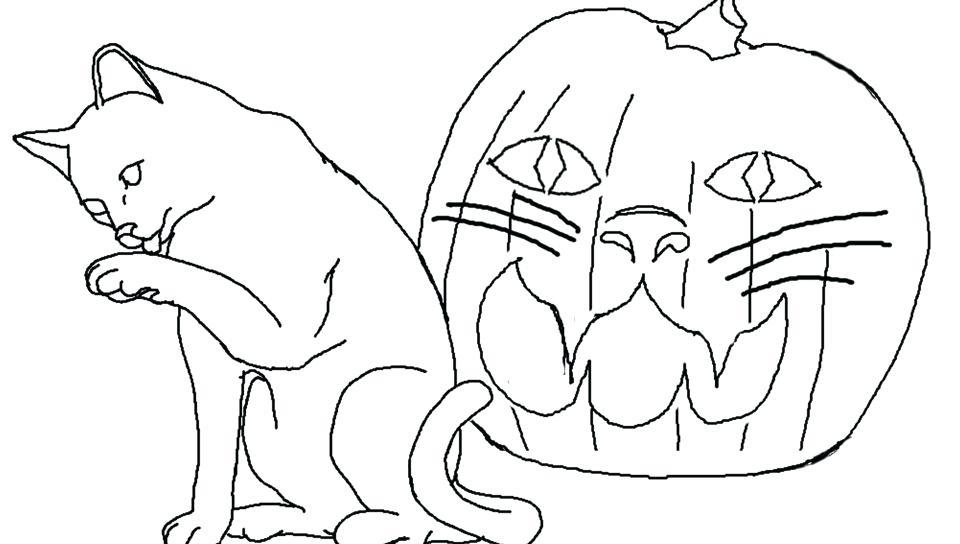 960x544 Halloween Jack O Lantern Coloring Pages Jack O Lantern Coloring