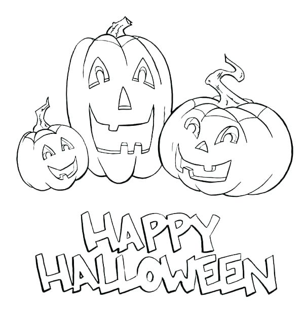 600x617 Jack O Lantern Coloring Pages With Ghosts Jack O Lantern Coloring