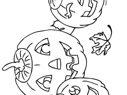 440x330 Sad Face Coloring Page Az Coloring Pages, Jack O Lanterns Coloring