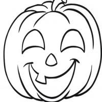 Happy Jack O Lantern Coloring Pages At Getdrawings Com Free For