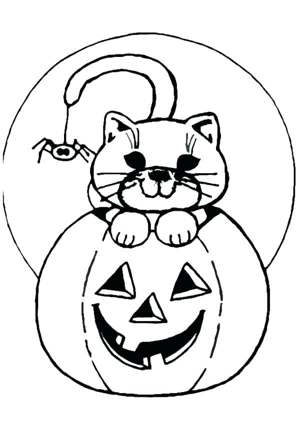 600x847 Happy Jack O Lantern Coloring Pages Devon Creamteas