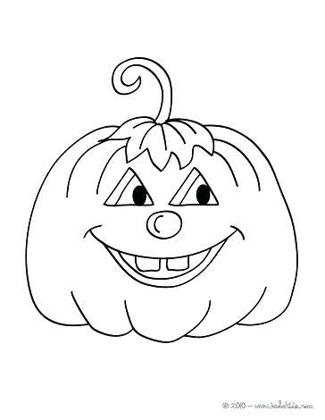 364x470 Coloring Pages Of Pumpkins Pumpkin Coloring Pages For Kids Pumpkin