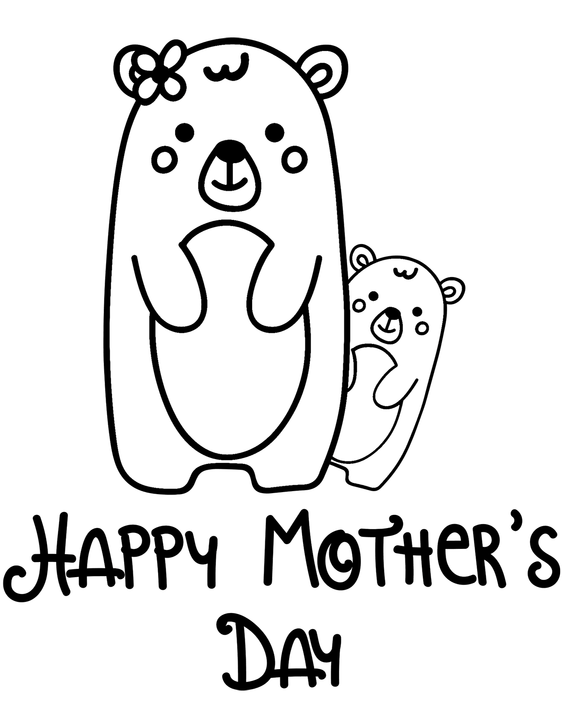 1159x1500 Free Printable Mother's Day Coloring Pages