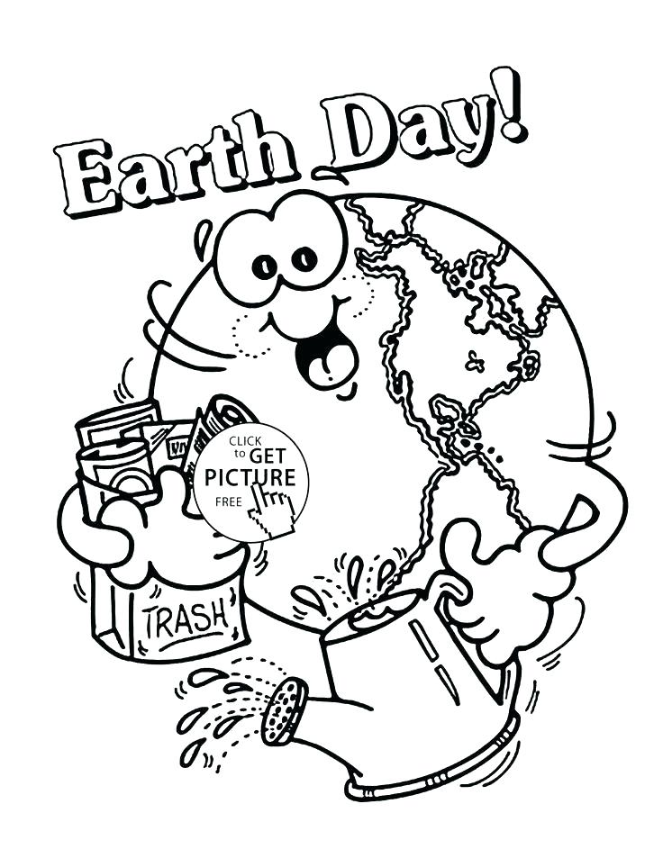 736x953 Earth Coloring Page For Kids Earth Coloring Pages Happy Earth