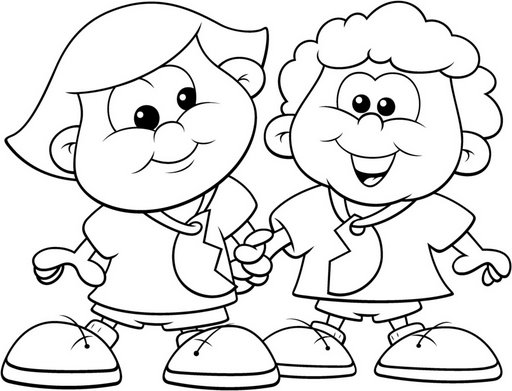 512x391 Happy Children Day Kids Coloring Pages Free Coloring Pages