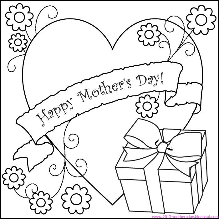 700x700 Happy Mothers Day Coloring Pages For Kids Happy Mothers Day