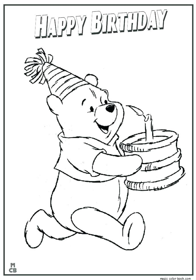 685x975 Birthday Card Coloring Page Coloring Pages For Birthdays Birthday