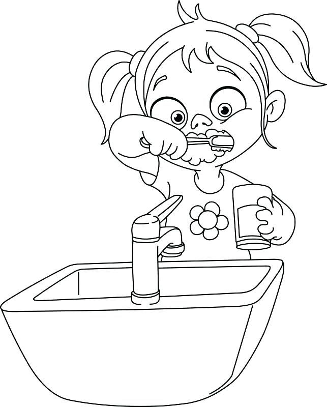 643x800 Teeth Coloring Page Epic Tooth Color Page Kids Coloring Pages