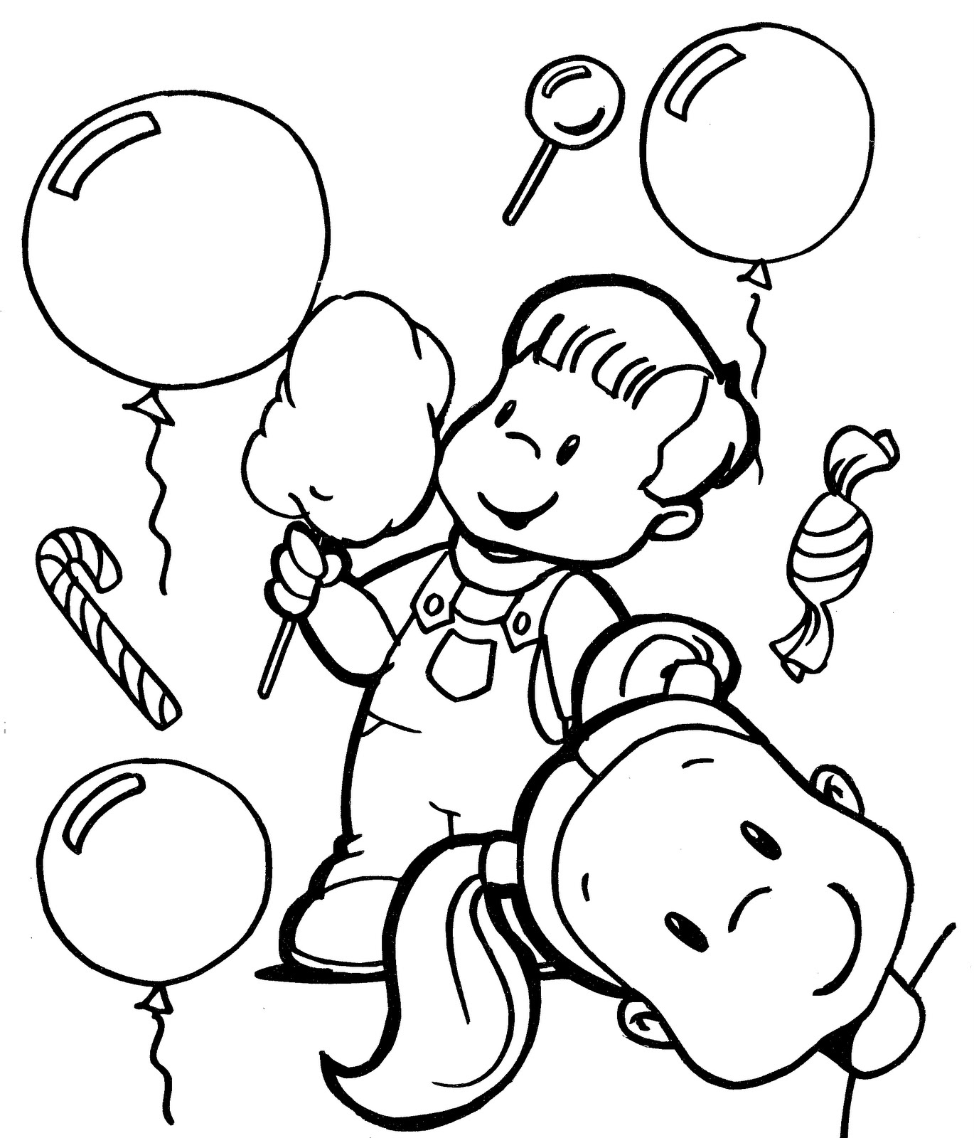 1370x1600 Children Day Coloring Pages Of Kids Enjoying Free Coloring Pages