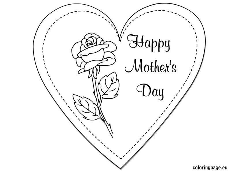 804x595 Coloring Happy Mothers Day Coloring Pages With Happy Mothers Day