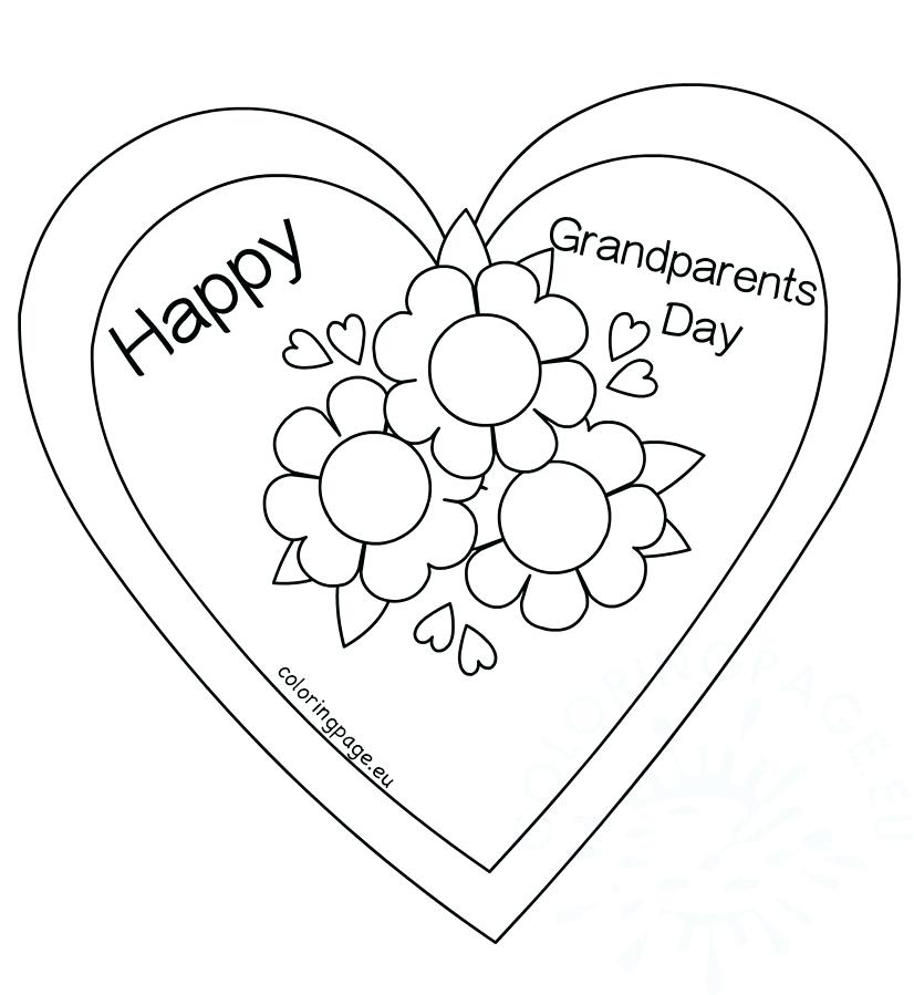 826x899 Coloring Pages For Grandparents Day Coloring Pages Coloring Pages
