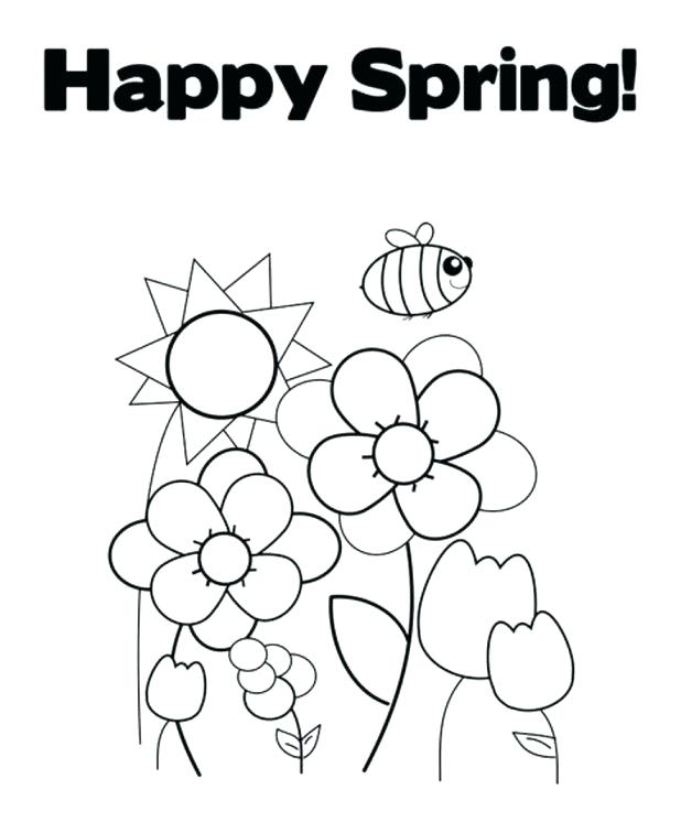618x746 Free Spring Coloring Pages For Kids Mothers Day Happy Grandparents