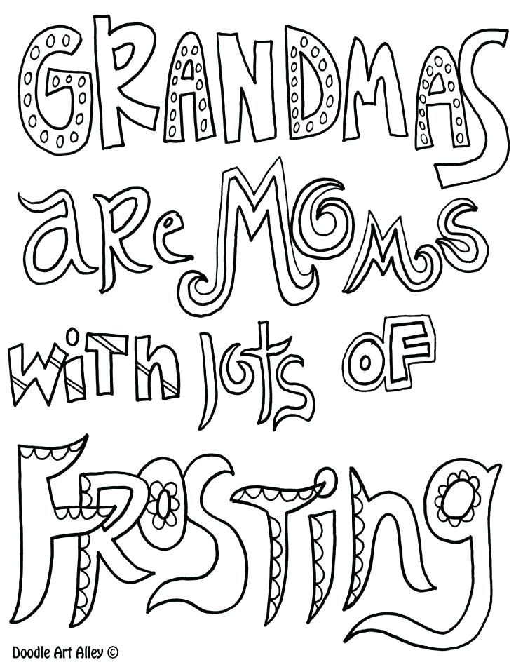 736x951 Grandma Birthday Coloring Pages Grandma Coloring Pages Birthday