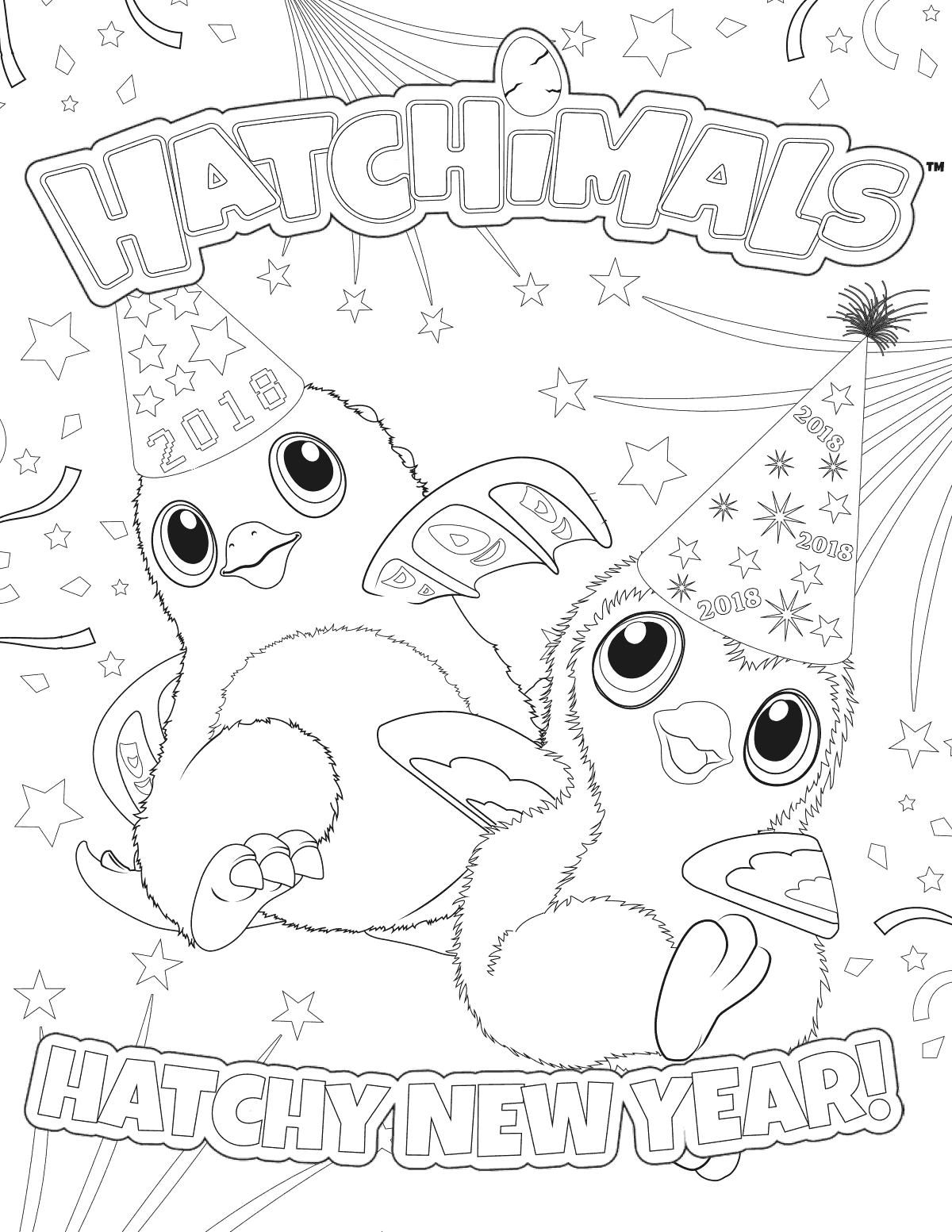 1200x1553 Happy New Year Coloring Pages