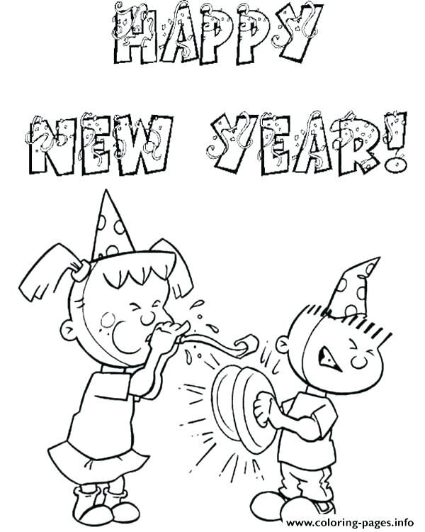 600x750 Loon Coloring Page Free New Years Coloring Pages Printable Free