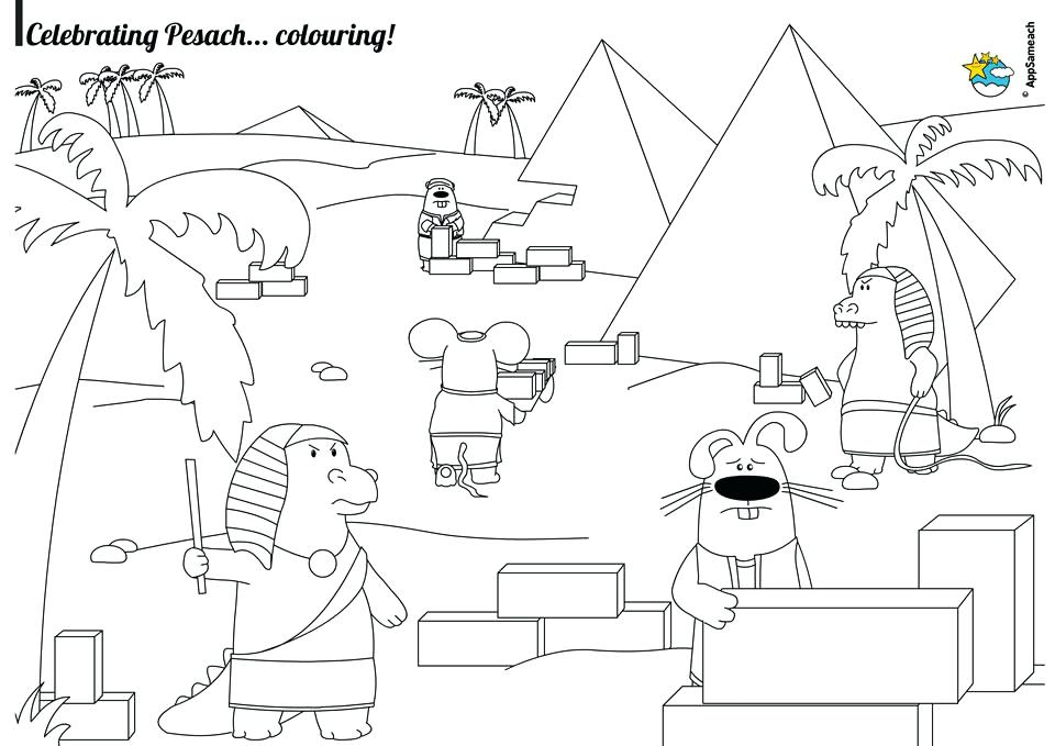 960x679 Passover Coloring Page Coloring Pages Passover Coloring Sheets