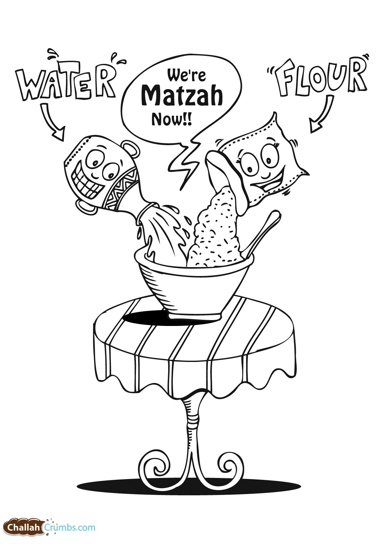 1240x1754 Passover Coloring Pages