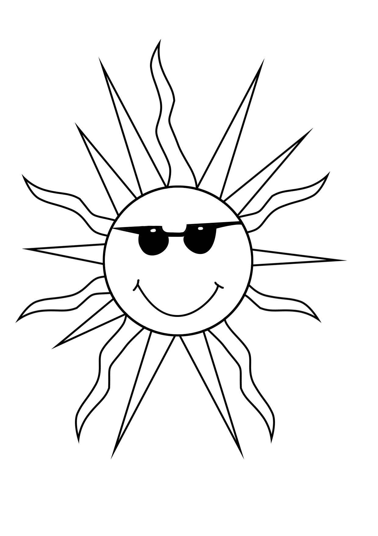 1240x1754 Summer Coloring Pages To Print